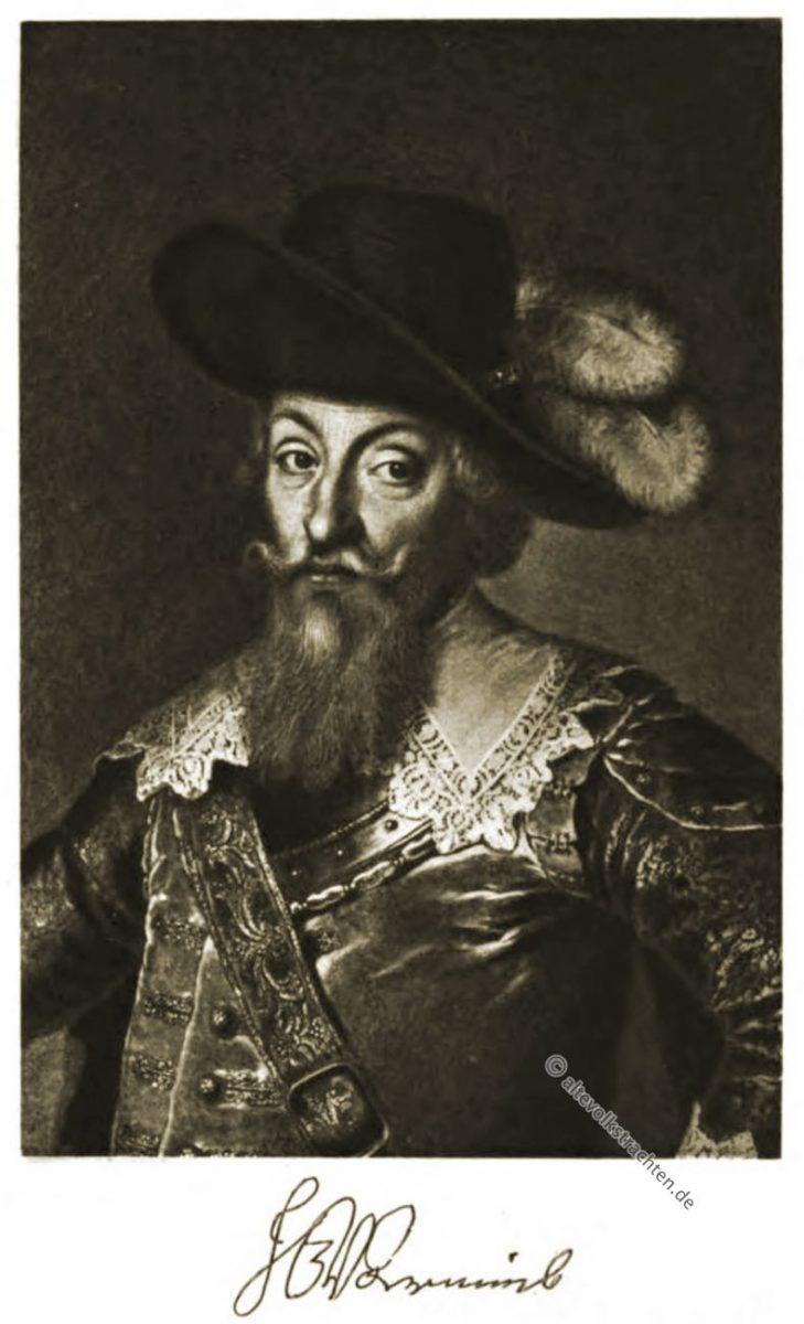 Johann Georg von Arnim-Boitzenburg, Dreißigjähriger Krieg, Feldherr, Uniform, Barock,