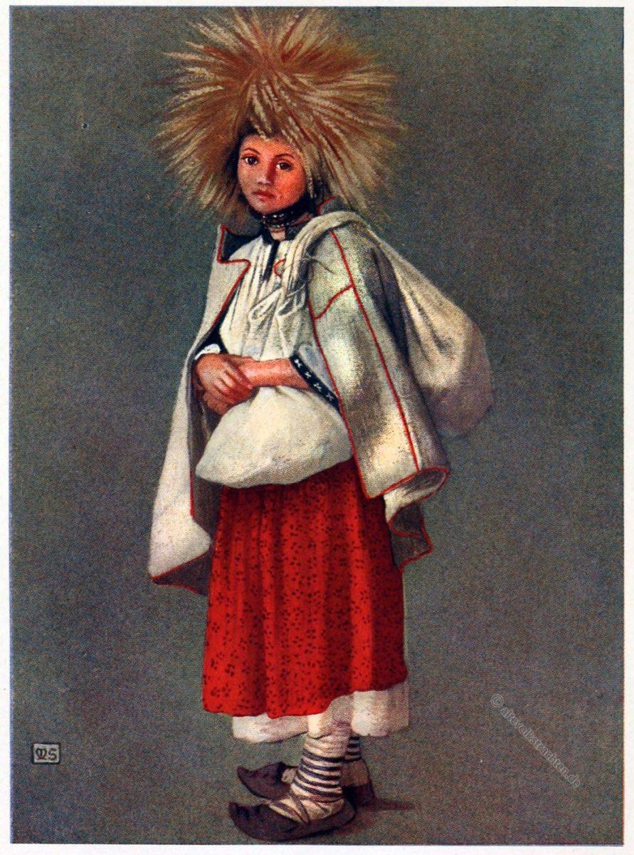 Marianne Stokes, Bánffy-Hunyad, Queen, Siebenbürgen, Erntehelferin, Trachten, Rumänien