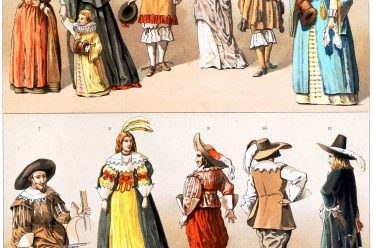 Auguste Racinet, MILITÄRISCHE KOSTÜME, BÜRGER, Adel, Bürgerstand, Holland, Kleidung, Barock , Kostümgeschichte,