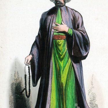 Imam aus der Türkei. Osmanisches Reich, 19. Jh.