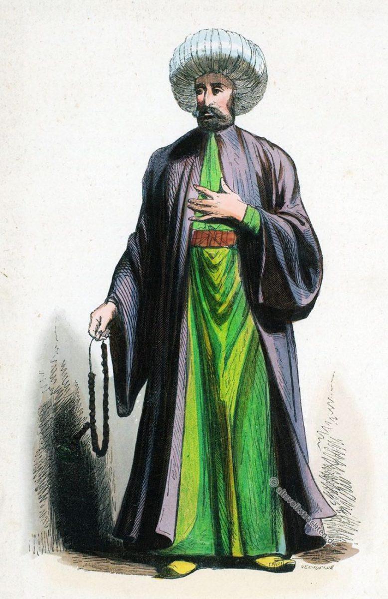 Kleidung,Imam,Türkei, Kostüm,