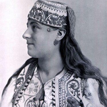 Jüdische Frau aus Istanbul um 1893