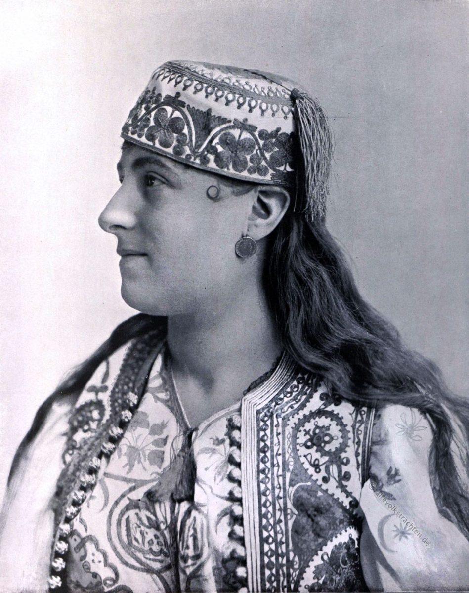 traditionelle türkische Tracht, Istanbul, Rebecca Meise Alithensii, Weltausstellung, Chicago, World's Columbian Exposition