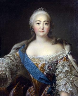 Kaiserin Kaiserin Elisabeth I. von Russland, Zarin, Jelisaweta Petrowna Romanowa, Zarin, Rococo, Iwan Argunow