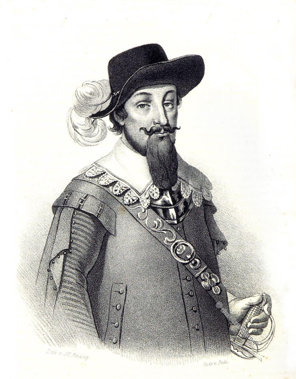 Hans Georg von Arnim-Boitzenburg, Dreißigjähriger Krieg, Feldmarschall, Feldherr, Uniform, Barock, Generalfeldmarschall