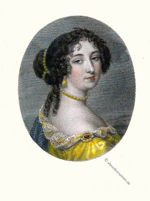 Maintenon, Montespan, Marquise, Portrait, Kostüm, Frankreich, Rokoko