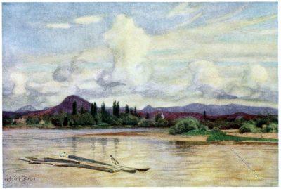 Adrian Scott Stokes, Mureș, Maros, Ungarn, Hügel der Jungfrau, Landschaft