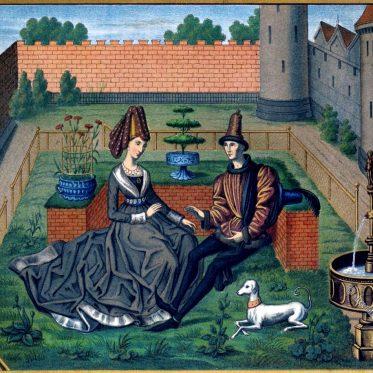 Maulgis und die schöne Oriande. Renaud de Montauban.