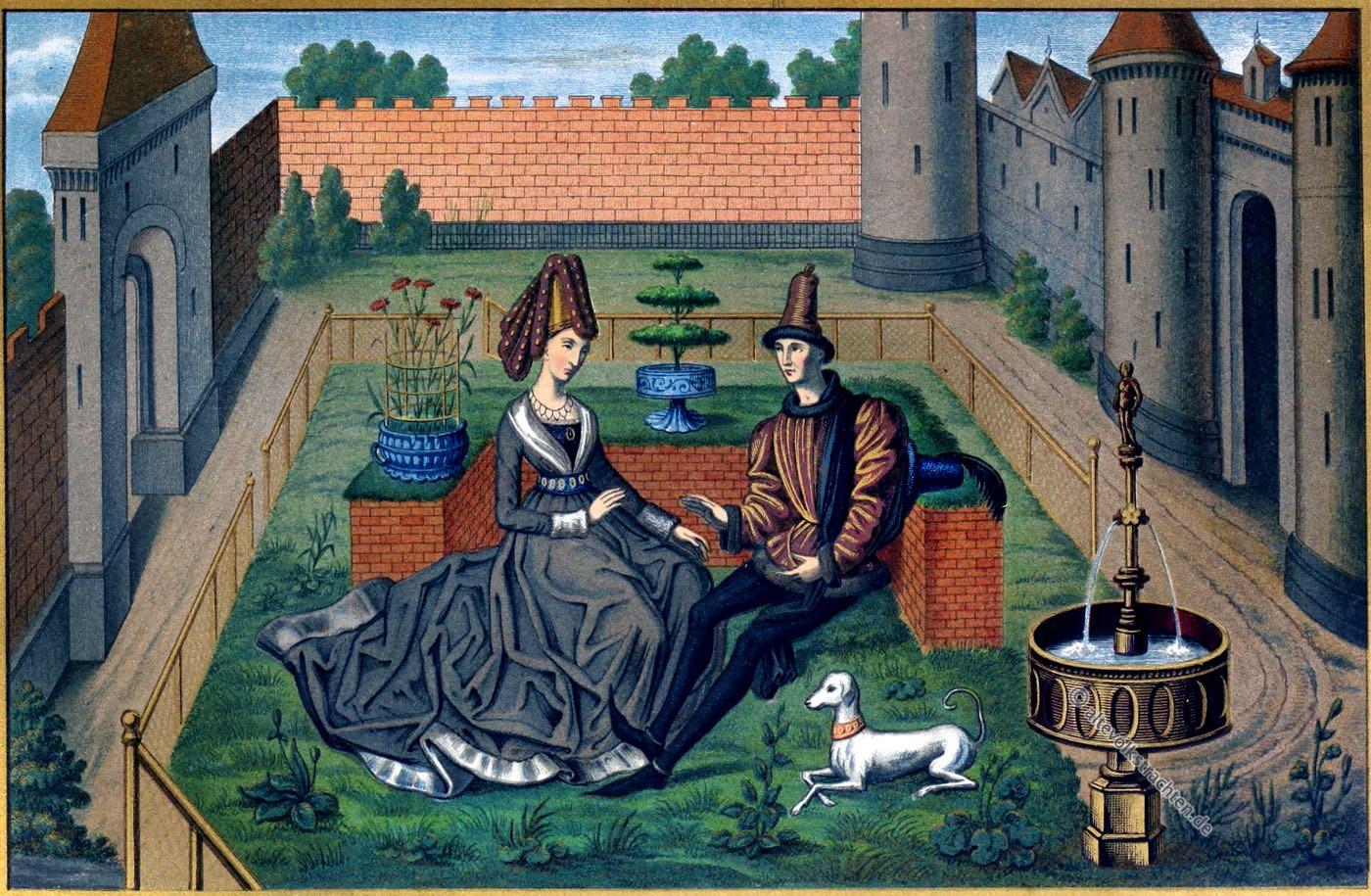 Maulgis, Oriande, Renault de Montauban, Paradies, Garten Eden, Mittelalter, Kleidung, Mode