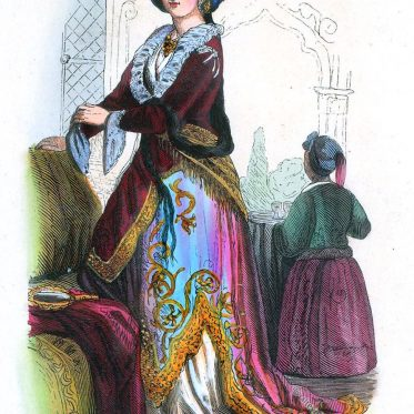 Dame des osmanischen Reiches.