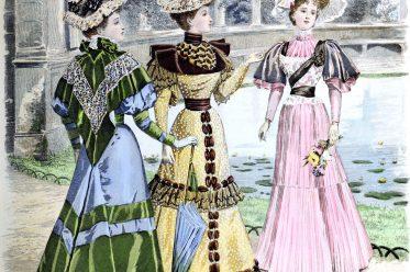 Viktorianisch, Mode, Jugendstil, Belle Époque, Kostüme, Kostümgeschichte, Modegeschichte, Queen,