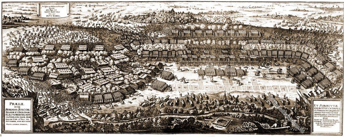 Schlacht, Breitenfeld, Dreißigjähriger Krieg, 17. Jahrhundert, Oluf Hanson