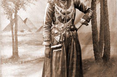 Jamelee, Tänzerin, Syrien, Tracht, Kostüm, Tanzkostüm, Weltausstellung, Chicago, Portrait, Orient, Oriental