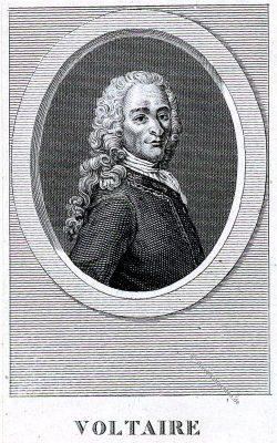 Voltaire, Philosoph, Schriftsteller, Portrait, Frankreich