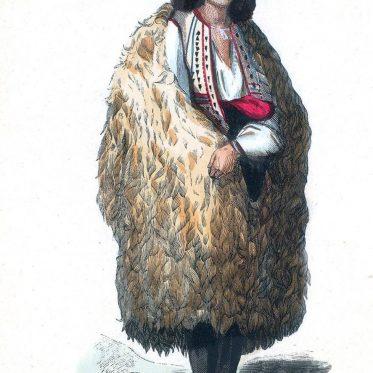 Tracht aus den Karpaten, Walachei.