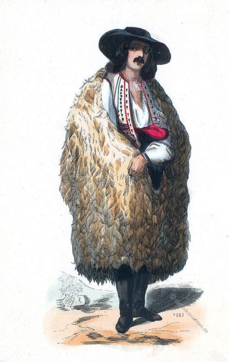 Walache, Transylvanien, Karpaten, Siebenbürgen, Bergbewohner, Trachten, Kleidung