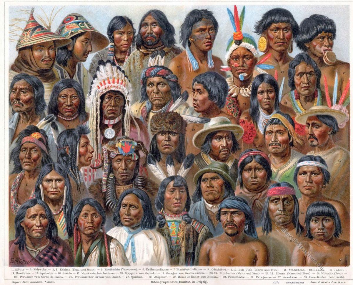 Indianer, Apache, Kostüm, Trachten, Peru, Ureinwohner, Amerika, Südamerika