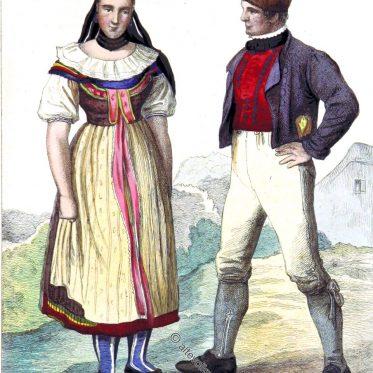 Bauersleute aus dem Herzogtum Braunschweig.