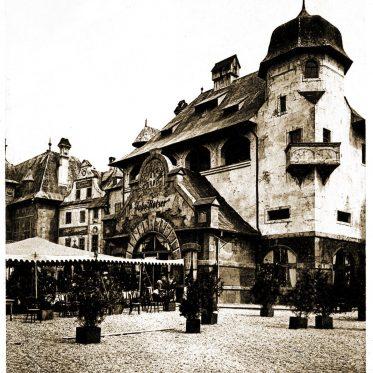 Alt Wien auf der Weltausstellung von Chicago, 1893.