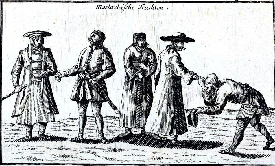 Morlachische, Trachten,Dalmatien, Kroatien, Erhard Reusch