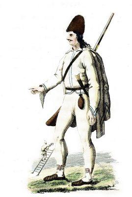 Morlach, Morlaque, Morlaken, Kroatien, Vlach, Tracht, Jean Baptiste Joseph Breton