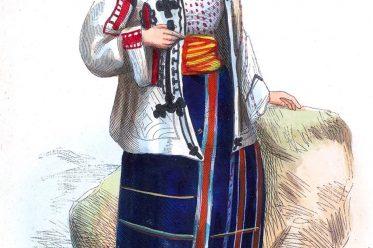 Romania, Costume, Traditional, August Wahlen, Balkan, Traditional, Folk, dress