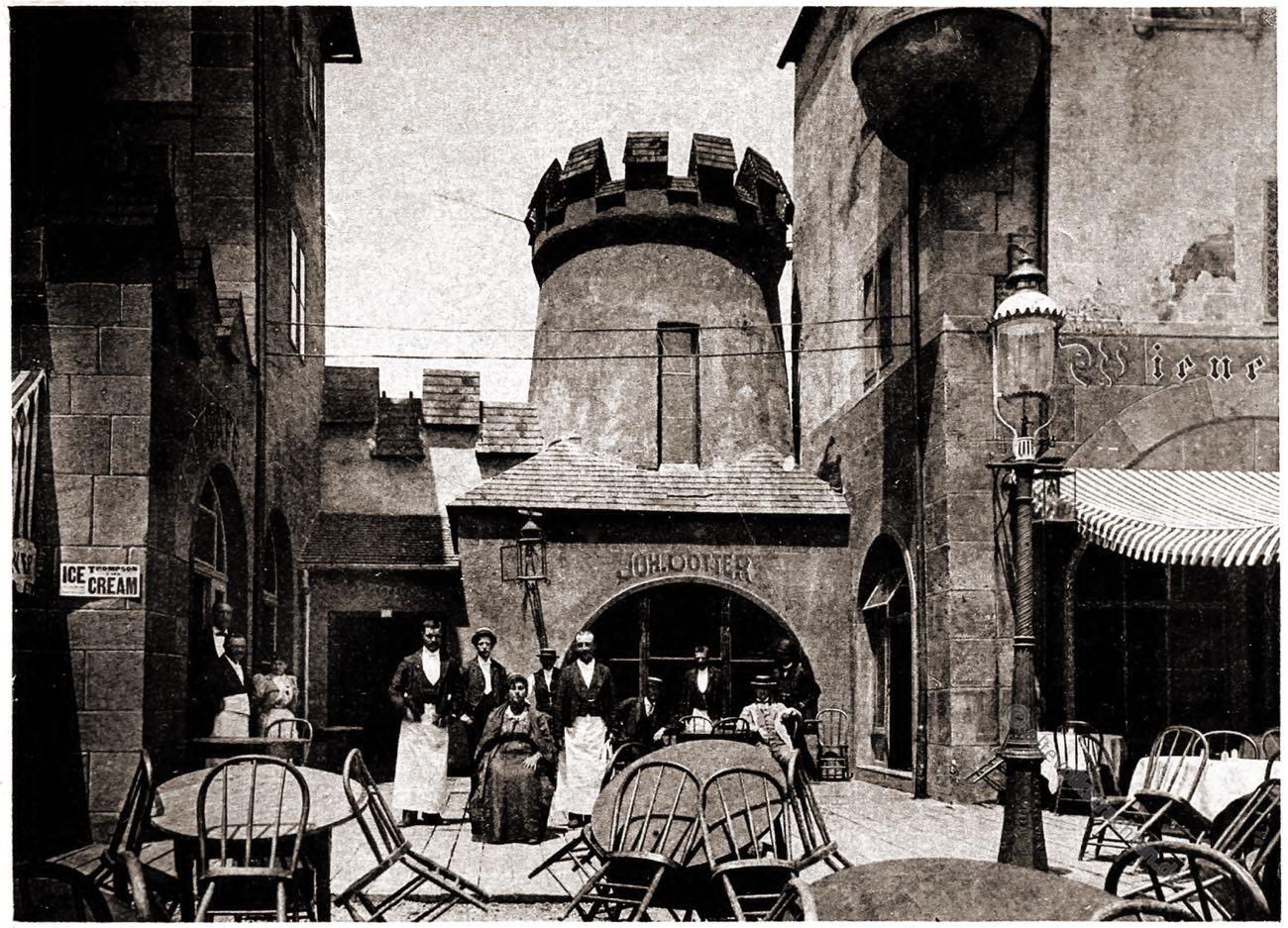 Salvator, Beer, Gasthof, Alt-Wien, Stadt, Wien, Vienna, Columbian Exposition Chicago, Adolph Wittemann,