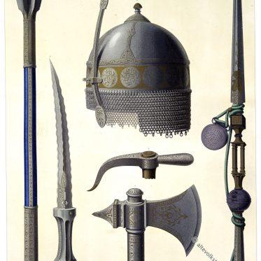 Die Waffen des Al-Ashraf Tuman Bay.