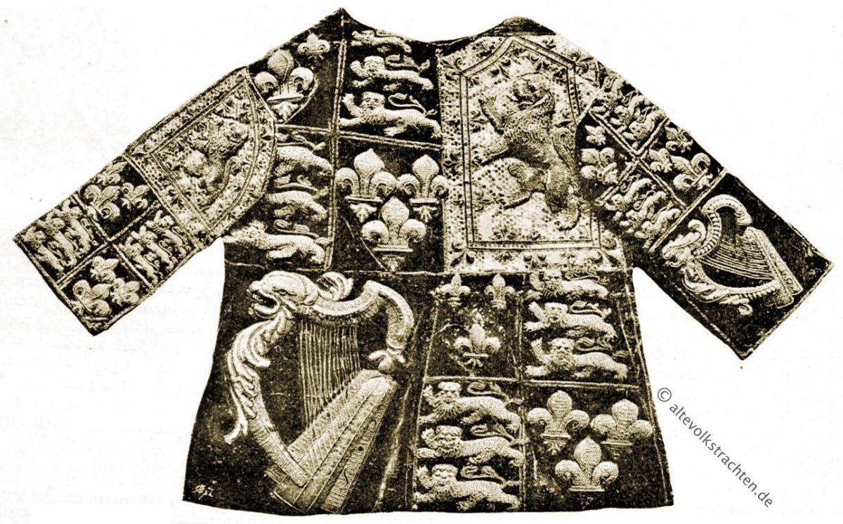 Herold, Wappen, Garter King of Arms, Heraldik, Heroldswesen, Mittelalter, Kostüme, Bekleidung, Tabard