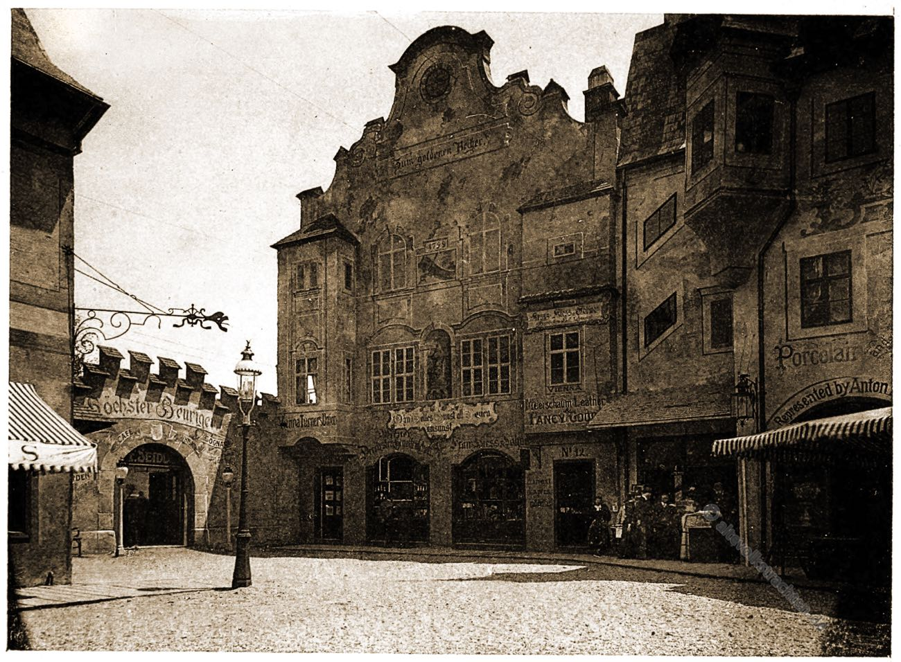 Alt-Wien, Columbian Exposition, Chicago, Adolph Wittemann, Stadtansicht