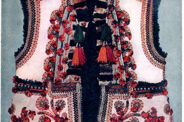 kožušok, Schaffell, Jacke, Bauernkunst, Trachten, Russland, Ukraine, Ясіня, Körösmező, Oblast Transkarpatien