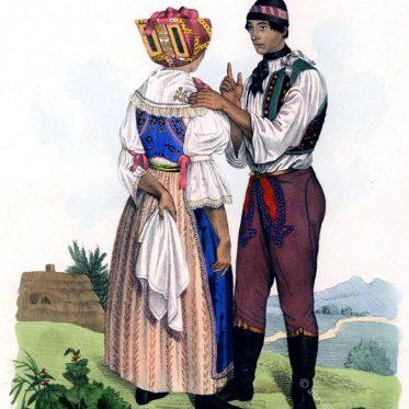 Ehepaar aus Břeclav, Tschechien.
