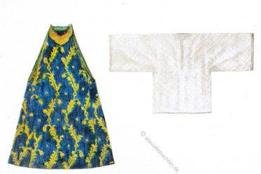 Brocade, dress, Jewess, Algeria, Maghreb, Algerian women, Muslin, costume, Max Tilke