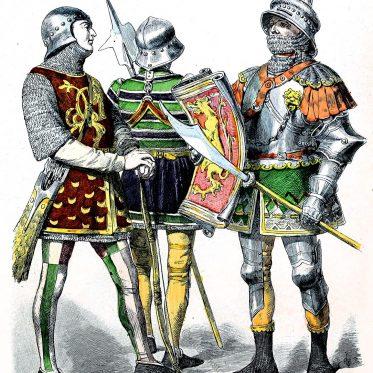 Burgunder Ritter des Mittelalters, 1470.