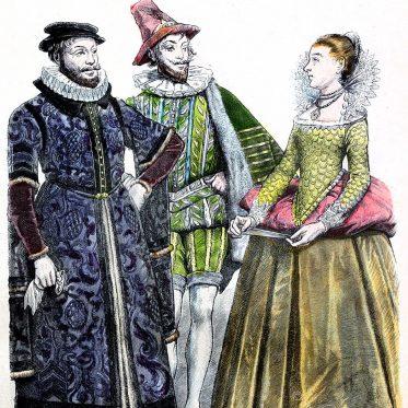 Tudor Mode. England  1550-1600.