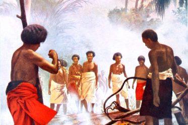 Feuerlauf, Beqa, Fidschi Südsee, Mysterium