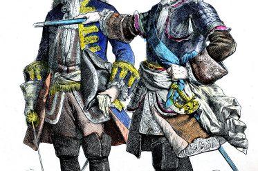 Münchener Bilderbogen, Ludwig XV., General, Uniformen, Militär, Frankreich,