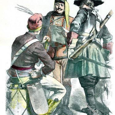 Österreichische Kavallerie des 18. Jh.