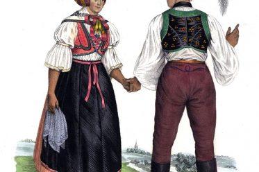Břeclav, Mähren, Lundenburg, Volkstrachten, Trachten, Tschechien