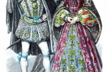 Lord Darnley, Maria Stuart, Königin, Schottland, Münchener, Bilderbogen, England, Tudor, Mode, Renaissance