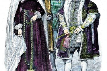 Maria Stuart, Eduard VI., Schottland, Königin, Münchener, Bilderbogen, England, Tudor, Mode, Renaissance