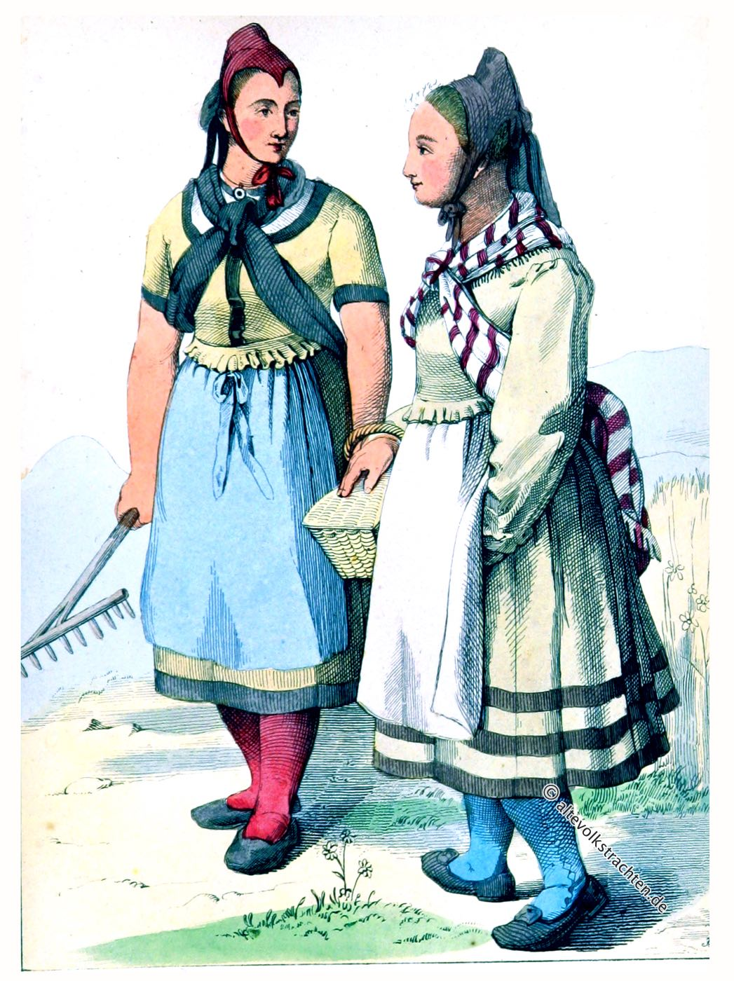 Landmädchen, Helsa, Kassel, Hessen