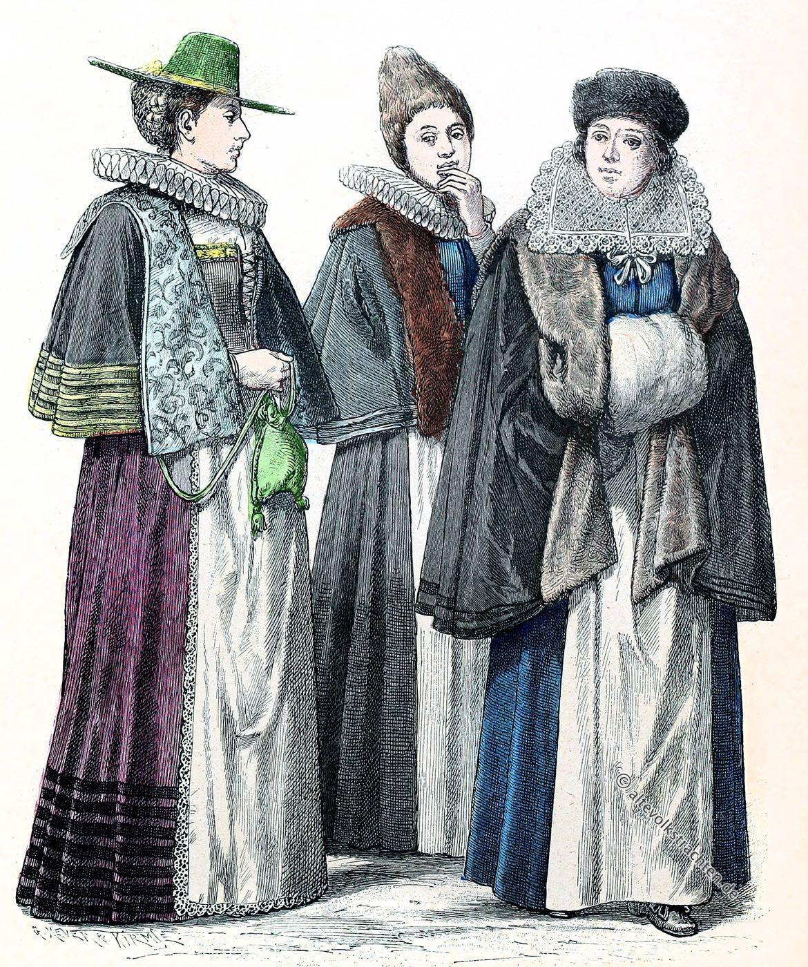 Münchener Bilderbogen, Trachten, Kostüme, Barock, München, Nürnberg, Wien, Frauentrachten