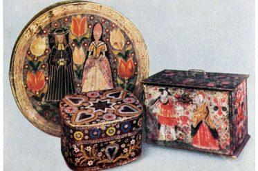 Brauttrühelein, Brautschachtel, Berchtesgadener Spanschachtel, Bauernmöbel, Antik,