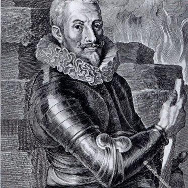 Johann Tserklaes Graf von Tilly. 17. Jh.