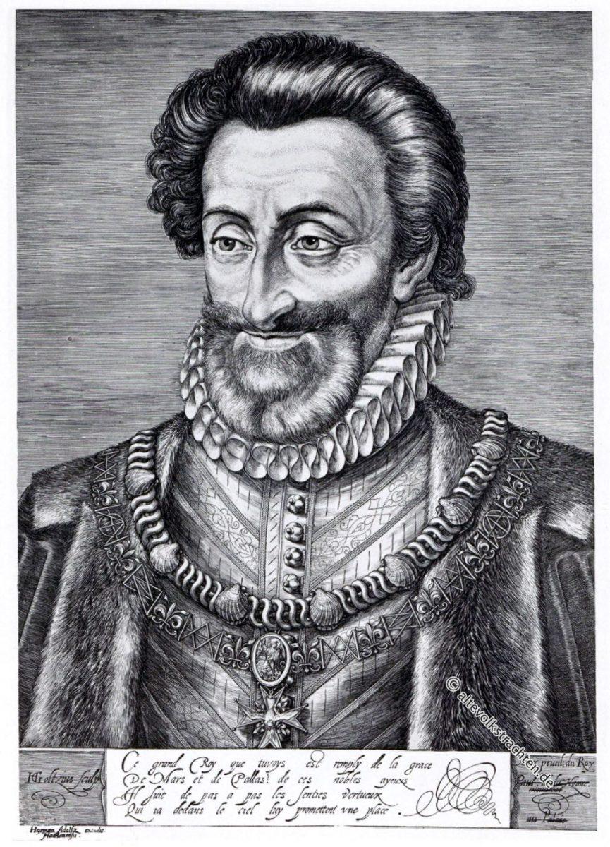 Heinrich IV, König, Frankreich, Renaissance, Portrait
