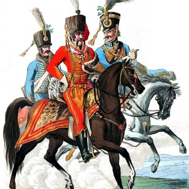 Königlich ungarische Kavallerie.