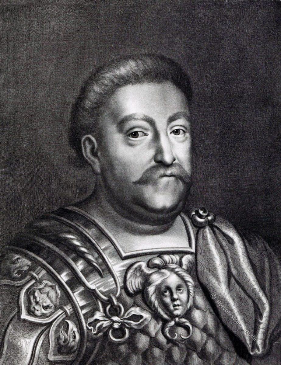 Johann III. Sobieski, König, Polen, Portrait, Dreissigjähriger Krieg,