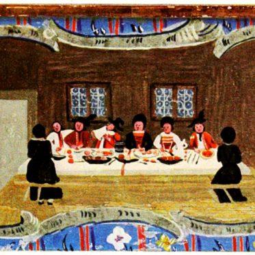 Malerei von Johann Nepomuk Pichler aus Schliersee.