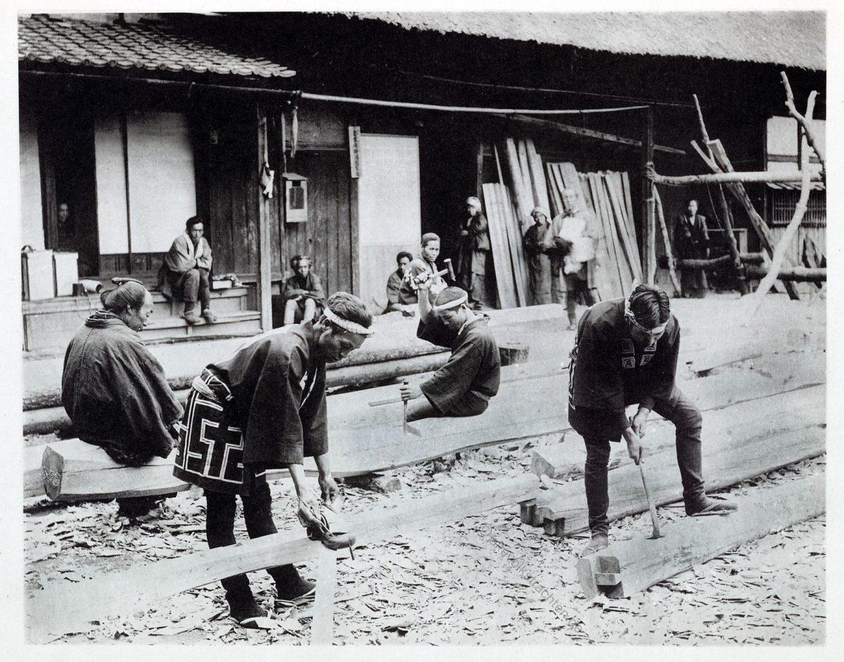 Kazuma Ogawa, Fotograf, Japan, Fotografie, Zimmerleute, Handwerk